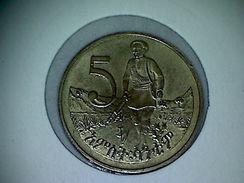 Ethiopie 5 Cents 1969-1977 - Ethiopia