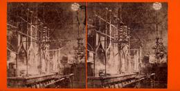 Prag, Synagoge, Inneres Der Alt-Neu, Phot. F.Fridrich, No.27 - Stereo-Photographie