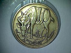 Ethiopie 10 Cents 1969-1977 - Ethiopia