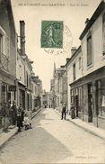 CPA - BEAUMONT-sur-SARTHE (72) - Aspect De La Rue De Paris En 1919 - Beaumont Sur Sarthe