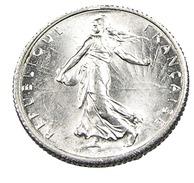1 Franc  - Semeuse  - France - 1918 - Argent  - Sup - - H. 1 Franc