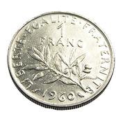 1 Franc  - Semeuse  - France - 1960 - Grand O - Nickel  - TTB - - H. 1 Franc