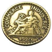 1 Franc  - Domard  - France - Chambre De Commerce - Cu.Alu - 1920  - TB+ - - H. 1 Franc