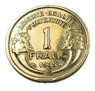 1 Franc  - Morlon  - France -  Cu.Alu - 1935  - TTB - - H. 1 Franc