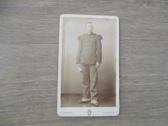 CDV HOMME MILITAIRE   PHOTOGRAPHE DELPHIN 17 ROCHEFORT - Cartes De Visite