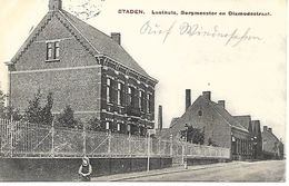 CPA / PK/ AK  - STADEN  Lusthuis,Burgmeester En Dixmudestraat - Staden