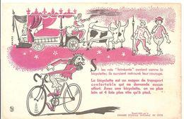 Buvard. Chambre Syndicale Nationale Du Cycle Si Les Rois Fénéants Avaient Connu La Bicyclette - Sport