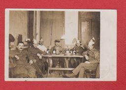 Carte Photo  -- Soldats S Allemands Prise à Pruzana En 1917 - Belarus