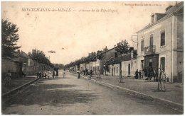 71 MONTCHANIN-les-MINES - Avenue De La République   (Recto/Verso) - Francia