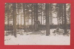 Lettonie -  Carte Photo  -- Cimetière Allemand De Sille Au Kurtland  -  1917 - Lettonie