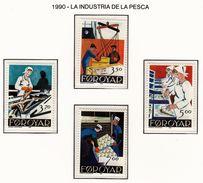 FEROE 1990 - INDUSTRIA DE LA PESCA - YVERT Nº 188-191** - Fábricas Y Industrias