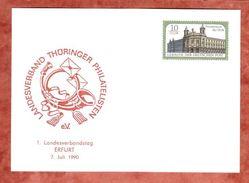 PP, Postmuseum Der DDR, Landesverbandstag Erfurt, Ungebraucht, 1990 (38955) - DDR
