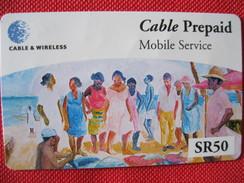 Télécarte Des Seychelles - Seychellen