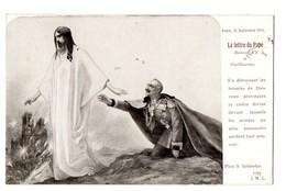MILITARIA . LETTRE DU PAPE BENOIT XV A GUILLAUME II (EMPEREUR ALLEMAND) LE 25 SEPTEMBRE 1914 - Réf. N°3289 - - Guerra 1914-18