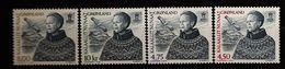 Danemark Groenland Grønland 2000 N° 334 / 7 ** Courant, Reine, Margrethe II, Nuuk, Montagne, Mont Sermitsiaq, Oiseau - Greenland