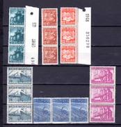 1948  Les Exportations, 3 X  761 / 766**, Cote 16,50 €, - 1948 Export