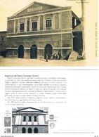 Italien Amtliche Karte - Theater Der Stadt Gela - Früher Teatro Garibaldi - 6. 1946-.. Republic