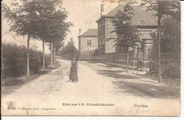 ESSCHEN: Zicht Aan 't St. Michaëls Gesticht (vroege Hoelen-kaart, Nummer 206) - Essen