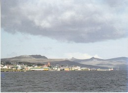 Falkland Islands Mariner´s View Of Port Stanley   Postcard Unused (33332) - Falkland