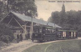Tervueren - Station Des Tramways Bruxellois (top Animation, Tram, Tramway, Colorisée) - Tervuren