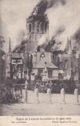 Leisele, Eglise De Leysele Incendiée Le 21 Aout 1908, Photo Matton Proven (pk36749) - Alveringem