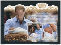 """Pitcairn - Block Nr. 65 - """"Königliches Baby"""" ** / MNH (aus Dem Jahr 2013) - Pitcairn"""