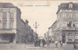Tienen - Tirlemont - Rue De La Station (top Animation, Photo Bertels, 1907) - Tienen