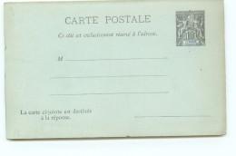Entier  Carte-postale Avec Réponse  10 Cent. Groupe Neuve - Covers & Documents