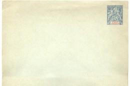 Entier  Enveloppe Grand Format 15 Cent Groupe Neuve - Covers & Documents