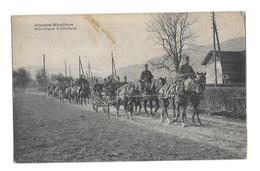 (15155-00) Infanterie Mitrailleure - Mitrailleurs D'infanterie - Manovre