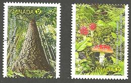 Sc. # 2462-63 International Year Of Forests Pair Used 2011 K342 - 1952-.... Règne D'Elizabeth II