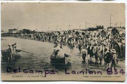 - BIZERTE - La Nouvelle Plage, Barques, Animation, Cliché Peu Courant, Ancienne, TBE, Scans, - Tunesien