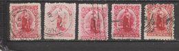 Yvert 97 Et 113 Oblitéré - 1855-1907 Crown Colony