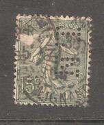 Perforé/perfin/lochung France No 130 LN  Ets Nozal (102) - Perfins