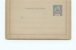 Entier Carte-lettre  15 Cent. Type Groupe Neuve - Postal Stationery