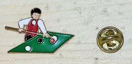 Pin´ S   JOUEUR DE BILLARD   N° 1     P7+ - Billiards