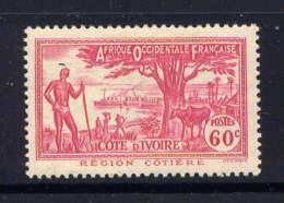 """CÔTE D'IVOIRE - 172* -REGION COTIERE / SANS """"RF"""" - Unused Stamps"""