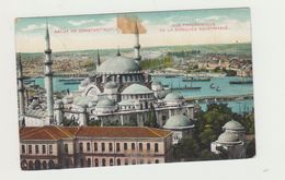 COSTANTINOPOLI - MOSCHEA SULEYMANIE - UNION POSTALE UNIVERSELLE - 1912 DA RODI-EGEO - Turquie