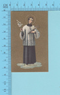 NB-ve/41005 - S. Eloysius, Saint Louis  - Image Pieuse Holy Card Santini - 2 Scans - Images Religieuses