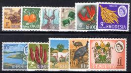 Rhodesia 1966-68 Mardon Definative Set Unmounted Mint. - Rodesia & Nyasaland (1954-1963)