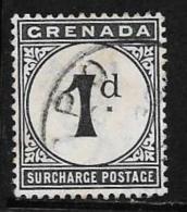 Grenada Scott # J1 Used Postage Due, 1892 - Granada (...-1974)