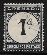 Grenada Scott # J8 Used Postage Due, 1911 - Grenada (...-1974)