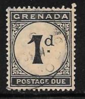 Grenada Scott # J11 Used Postage Due, 1921 - Grenada (...-1974)