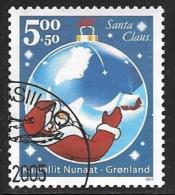 Greenland, Scott # B28 Used Christmas Ornament, 2002 - Used Stamps