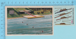 Decalque - Aviron, Rowing -  Canada Action Olympique Rejouée, Avec Instruction, Kellog's - 2 Scans - Jeux Olympiques