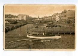 247755 FINLAND HELSINKI South Harbour Ship TRAM Vintage PC - Finlande