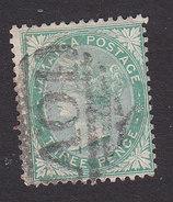 Jamaica, Scott #9, Used, Queen Victoria, Issued 1870 - Jamaica (...-1961)