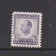 Afghanistan SG 327 1951 Pictorials 35p Violet Mohamed Zahir Shah MNH - Afghanistan