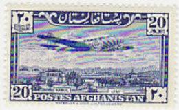 Afghanistan SG 341 1951 Air  Plane 20af  MNH - Afghanistan