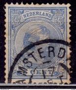 Netherlands, 1891-94, Wilhelmina, 5c, Sc#41, Used - Gebraucht